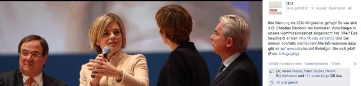 CDU-Empfehlung