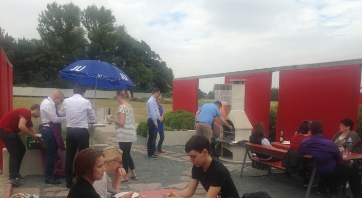 JU-Besuch im Bürgerpark