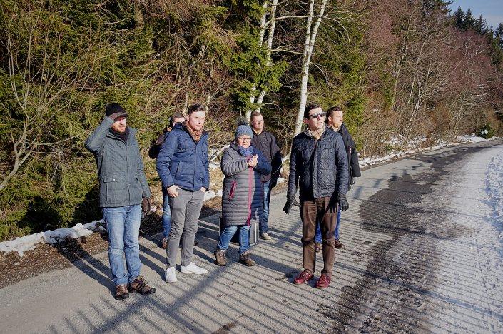 JU-Besuch in Schierke